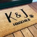 Customised door mat
