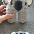 Handmade Crochet Koala Softie & Keychain