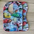 Bib and mini burp cloth duo