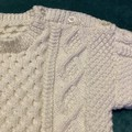 Hand knitted childs jumper