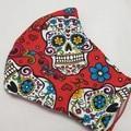 'SUGAR SKULLS' 3 Layer Face Masks -Washable & Reusable