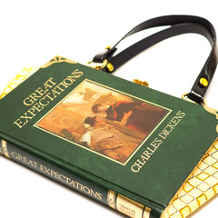 Great Expectations Novel Bag - Charles Dickens - Bag made from a book