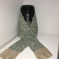 Hand made knitted scarf