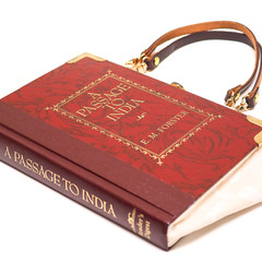 A Passage to India Novel Bag - E.M. Forster - Bag made from a book