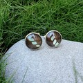 Butterfly Wing Cufflinks (multiple colour options available)