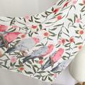 Native Australian Pink & Grey Galah Scarf Australian Bird Flora Scarf Scarves