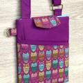 Shoulder Bag - Cross Body Bag - Multicoloured Owls
