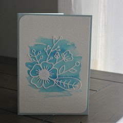 BLANK WATER COLOUR CARD  (Postage Included)