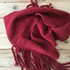 Handwoven unisex scarf