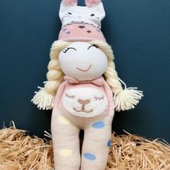 Chuppy Handmade Dolls - Baby Shower, Birthday, Parenting Gift, Ginger hair