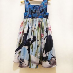 Happy Magpies- Dress