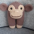 """Bounty"" the Crochet Monkey Toy"