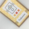 Confirmation Card - Tile Squares, Cross