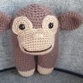 """""""Bounty"""" the Crochet Monkey Toy"""