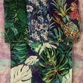 Leaves 4 pack kitchen cloths/ unpaper towels