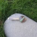 Butterfly or Sunset Moth Wing Tieclip (multiple colour options available)