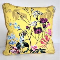 Oriental Gold Cushion Cover