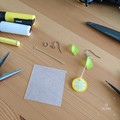 Make your own (or completed) Lemon Slice Earrings - DIY Craft Kit & Howto video