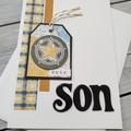 Epic Son Handmade Card