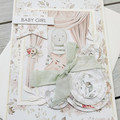 Baby Girl Handmade Card