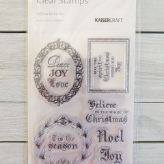 Kaisercraft Stamps - Letters to Santa