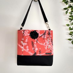 Cherry Blossom Cross Body Bag/Handbag