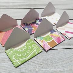 Mini Envelope Embellishments
