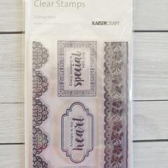Kaisercraft Stamps - Cottage Rose