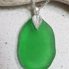 Seaglass Emerald Green - Leaf