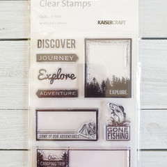 Kaisercraft Stamps - Outdoor Trail