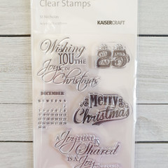 Kaisercraft Stamps - St Nicholas