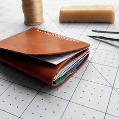 Minimalist Leather Wrap Wallet