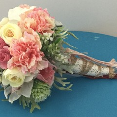 Spring Mixed Flower Wedding Bouquet