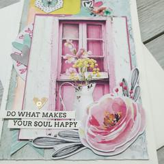 Happy Soul Handmade Card