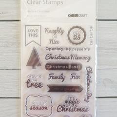Kaisercraft Stamps - Modern Christmas