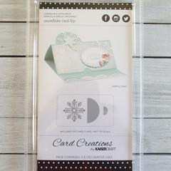 Kaisercraft Die - Snowflake Card Flip
