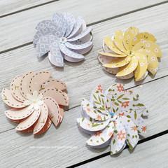 Layered Flowers - Style 2 - Set 2