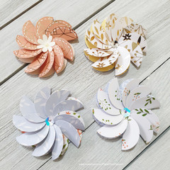 Layered Flowers - Style 2 - Set 1