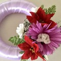 Lilic Faux Floral Candle Wreath