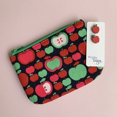 Apple Earring & Coin Purse Gift Set