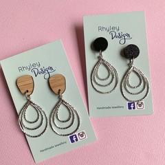 Stylish Teardrop Earrings
