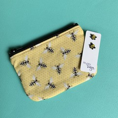 Bee Earring & Coin Purse Gift Set