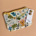 Lion Earring & Coin Purse Gift Set