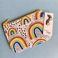 Rainbow Earring & Coin Purse Gift Set