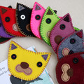 Handmade Felt Cat Corner Bookmark