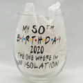 Personalised  2020 Isolation Birthday
