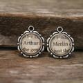 ~ Arthur and Merlin Earrings ~