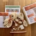 DIY Macrame Plant Hanger - Cotton & Instructions to make your own macrame retro