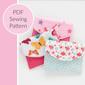 Easy Sew Mini Pouch / Coin Purse PDF Sewing Pattern