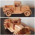 Wooden Model / Toy Car